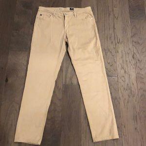 Adriano Goldschmied AG Stilt skinny tan pants 31